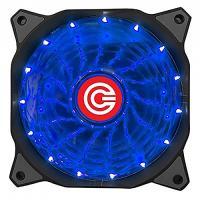 CIRCLE CABINET FAN CG 16XB BLUE - 120 MM FAN WITH BLUE LED