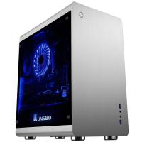 JONSBO MINI TOWER CABINET (M-ATX) - RM3 WITH TEMPERED GLASS SIDE PANEL (SILVER)
