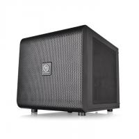 THERMALTAKE MINI TOWER CABINET (M-ATX) - CORE V21 WITH TRANSPARENT SIDE PANEL (BLACK)