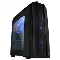 THERMALTAKE MID TOWER CABINET (ATX) - VERSA N27 WITH TRANSPARENT SIDE PANEL (BLACK)