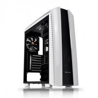THERMALTAKE VERSA N27 (ATX) Mid Tower Cabinet - With Transparent Side Panel (White)