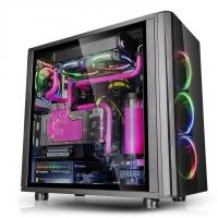 THERMALTAKE VIEW 31 RGB (ATX) Mid Tower Cabinet - With Tempered Glass Side Panel (Black)