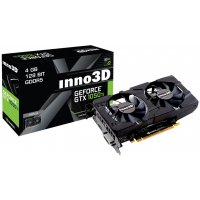 INNO3D GRAPHICS CARD PASCAL SERIES - GTX 1050 TI 4GB GDDR5 DUAL FAN (N105T-1DDV-M5CM)