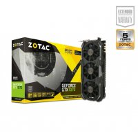 ZOTAC GRAPHICS CARD PASCAL SERIES - GTX 1070 8GB GDDR5 AMP EXTREME (ZT-P10700B-10P)