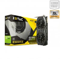 ZOTAC GRAPHICS CARD PASCAL SERIES - GTX 1070 8GB GDDR5 AMP EDITION (ZT-P10700C-10P)