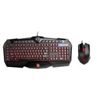 THERMALTAKE TT ESPORTS GAMING KEYBOARD MOUSE COMBO CHALLENGER PRIME RGB (KB-CPC-MBBRUS-01)