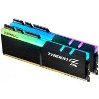 G.SKILL F4-3000C16D-16GTZR Desktop Ram Trident Z RGB Series 16GB (8GBx2) DDR4 3000MHz