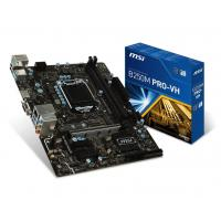 MSI B250M PRO-VH Motherboard (Intel Socket 1151/7th And 6th Generation Core Series Cpu/Max 32GB DDR4-2400MHz Memory)