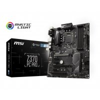 MSI MOTHERBOARD Z370 PC PRO (INTEL SOCKET 1151/8TH GENERATION CORE SERIES CPU/MAX 64GB DDR4-4000MHZ MEMORY)