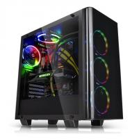 THERMALTAKE VIEW 21 (ATX) Mid Tower Cabinet - With Tempered Glass Side Panel (Black)