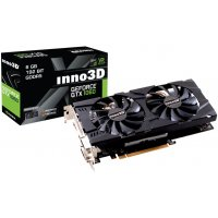 INNO3D GRAPHICS CARD PASCAL SERIES - GTX 1060 6GB GDDR5 TWIN X2 (N106F-5SDN-N5GS)