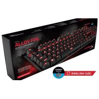HYPERX ALLOY FPS Mechanical Gaming Keyboard Cherry MX Blue Switches - With Red Backlight