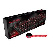 HYPERX MECHANICAL GAMING KEYBOARD ALLOY FPS CHERRY MX RED SWITCHES - WITH RED BACKLIGHT