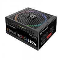 THERMALTAKE SMPS SMART PRO RGB 650W - 650 WATT 80 PLUS BRONZE CERTIFICATION FULLY MODULAR PSU WITH ACTIVE PFC