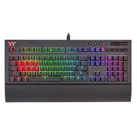 THERMALTAKE GAMING KEYBOARD TT PREMIUM X1 CHERRY MX BLUE SWITCHES - WITH RGB BACKLIGHT (KB-TPX-BLBRUS-01)