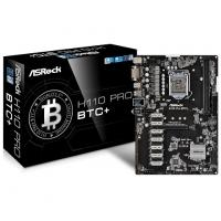 ASROCK H110 PRO BTC+ Motherboard (Intel Socket 1151/7th And 6th Generation Core Series CPU/Max 32GB DDR4-2400MHz Memory)