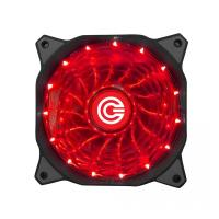 CIRCLE CG 16XR Red Cabinet Fan - 120mm Fan With Red Led