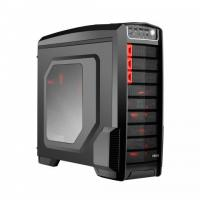 CIRCLE CC830 (ATX) Mid Tower Cabinet - With Transparent Side Panel (Black)