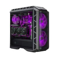 COOLER MASTER MASTERCASE H500P (E-ATX) Mid Tower Cabinet - With Tempered Glass Side Panel