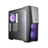 COOLER MASTER MASTERBOX MB500 (ATX) Mid Tower Cabinet - With Tempered Glass Side Panel And RGB Fan Controller (Black)