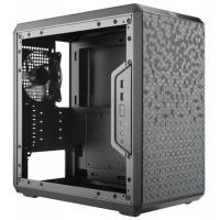COOLER MASTER MASTERBOX Q300L (M-ATX) Mini Tower Cabinet - With Transparent Side Panel (Black)