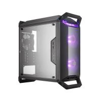 COOLER MASTER MASTERBOX Q300P (M-ATX) Mini Tower Cabinet - With Transparent Side Panel And RGB Fan Controller