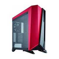 CORSAIR SPEC OMEGA Mid Tower Cabinet (Atx) -  Black/Red With Tempered Glass Side Panel