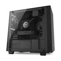 NZXT H400 (M-ATX) Mini Tower Cabinet - With Tempered Glass Side Panel (Matte Black)