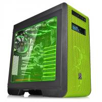 THERMALTAKE CORE V51 (E-ATX) Mid Tower Cabinet - With Transparent Side Panel (Green)