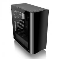 THERMALTAKE VIEW 22 ATX Mid Tower Cabinet (Black) With Tempered Glass Side Panel