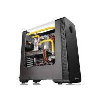 THERMALTAKE VIEW 28 RGB (ATX) Mid Tower Cabinet - With Transparent Side Panel (Black)