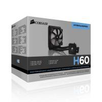 Corsair Hydro Series, H60, 120mm Radiator, Single 120mm PWM fan, Liquid CPU Cooler