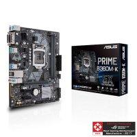 ASUS PRIME B360M-K Motherboard (Intel Socket 1151/8th Generation Core Series CPU/Max 32GB DDR4-2666Mhz Memory)