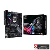 ASUS ROG STRIX H370-F GAMING Motherboard (Intel Socket 1151/8th Generation Core Series CPU/Max 64GB DDR4-2666Mhz Memory)