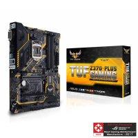 ASUS TUF Z370-PLUS GAMING Motherboard (Intel Socket 1151/8th Generation Core Series CPU/Max 64GB DDR4-4000MHz Memory)