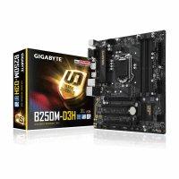 GIGABYTE GA B250M D3H Motherboard (Intel Socket 1151/7th And 6th Generation Core Series CPU/Max 64GB DDR4-2400MHz Memory)