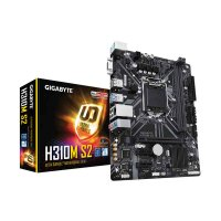 GIGABYTE H310M S2 Motherboard (Intel Socket 1151/8th Generation Core Series CPU/Max 32GB DDR4-2666MHz Memory)