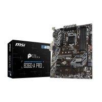 MSI B360-A PRO Motherboard (Intel Socket 1151/8th Generation Core Series CPU/Max 64GB DDR4-2666Mhz Memory)