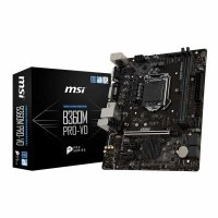MSI B360M PRO VD Motherboard (Intel Socket 1151/8th Generation Core Series CPU/Max 32GB DDR4-2666Mhz Memory)