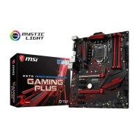 MSI H370 GAMING PLUS Motherboard (Intel Socket 1151/8th Generation Core Series CPU/Max 64GB DDR4-2666Mhz Memory)