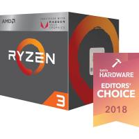 AMD RYZEN 3 2200G APU Series Desktop Processor With Wraith Stealth Cooling Solution - (Radeon Vega 8 Graphics, 4 Core, Up To 3.7 GHz, AM4 Socket, 6MB Cache)