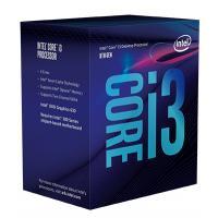 Intel® Core™ i3-8100 Desktop Processor 4 Core 3.6GHz  LGA1151 300 Series 65W BX80684i38100