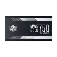 COOLER MASTER MWE GOLD 750W SMPS - 750Watt 80 Plus Gold Certification Fully Modular PSU With Active PFC