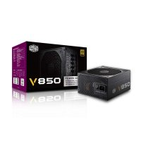 COOLER MASTER SMPS V850 - 850 WATT 80 PLUS GOLD CERTIFICATION FULLY MODULAR PSU WITH ACTIVE PFC