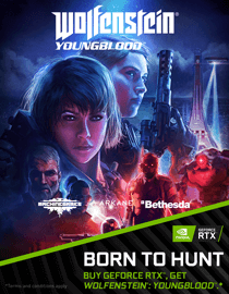 BORN TO HUNT - Buy Nvidia Geforce RTX, Get WOLFENSTEIN : YOUNGBLOOD