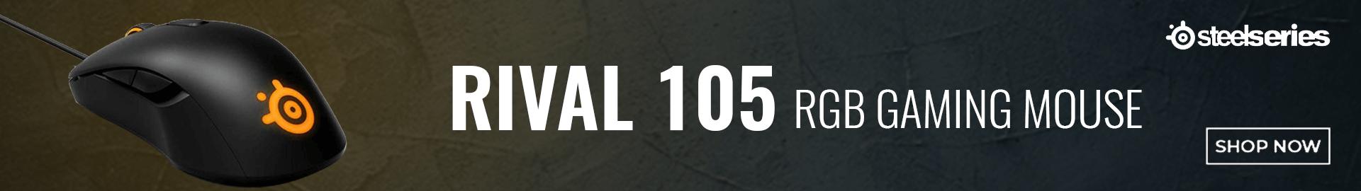 SteelSeries Rival 105 RGB