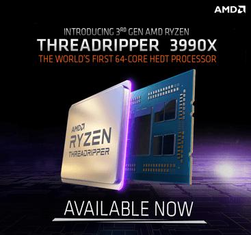 Amd Threadripper 3990X