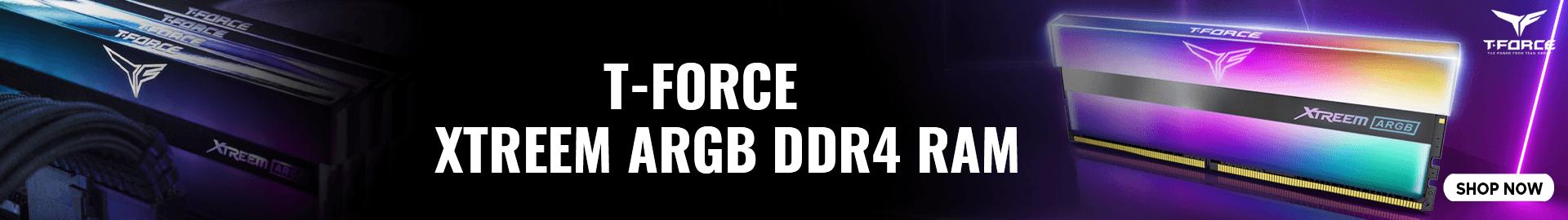 T-Force Xtreem ARGB DDR4 Ram