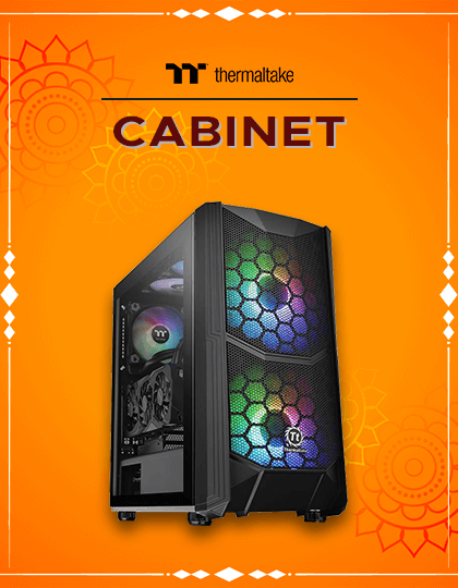 Buy Thermaltake Cabinet at Best Price in India.