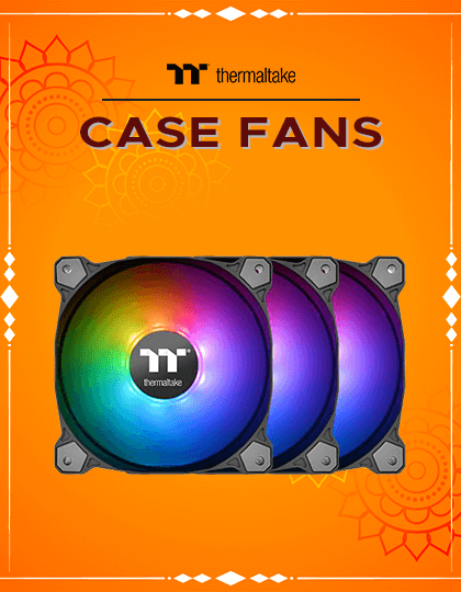 Buy Thermaltake Case Fans at Best Price In India